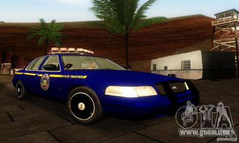 Ford Crown Victoria New York Police für GTA San Andreas