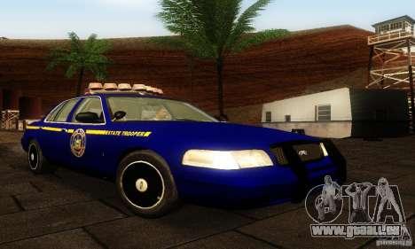 Ford Crown Victoria New York Police für GTA San Andreas