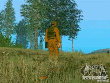 Boue Camo Morpeh pour GTA San Andreas troisième écran