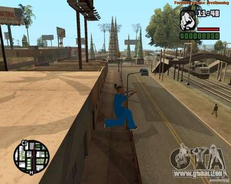 Haut-Tracer für GTA San Andreas dritten Screenshot