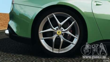 Ferrari F12 Berlinetta 2013 [EPM] pour GTA 4 vue de dessus