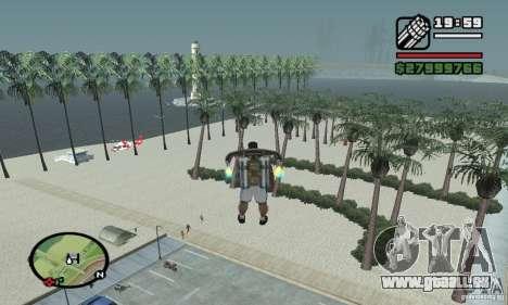 Paradise Beach pour GTA San Andreas
