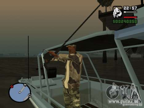 The present fishing mod V1 für GTA San Andreas