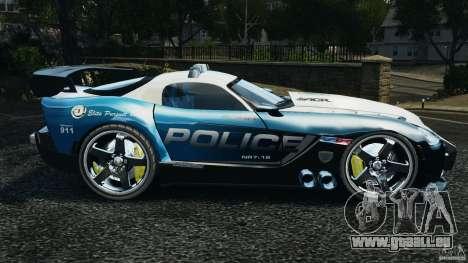 Dodge Viper SRT-10 ACR ELITE POLICE [ELS] für GTA 4 linke Ansicht