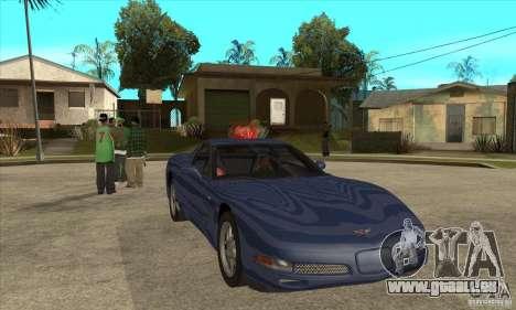Chevrolet Corvette 5 pour GTA San Andreas