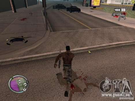 Nouvelle zone GANGSTER pour GTA San Andreas dixième écran