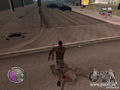 Neue GANGSTER-zone für GTA San Andreas zehnten Screenshot