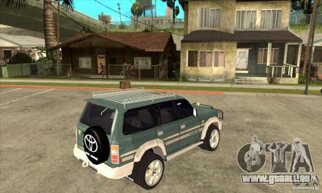 Toyota Land Cruiser 80 pour GTA San Andreas vue de droite