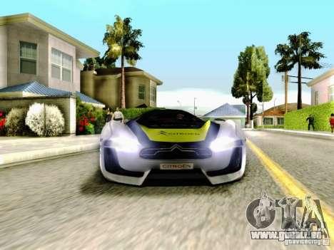 Citroen GT Gymkhana pour GTA San Andreas vue de côté
