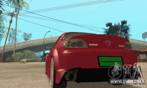 Mise en marche du moteur et les phares pour GTA San Andreas cinquième écran