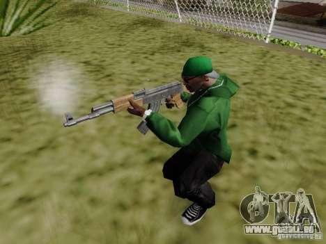 AK-47 de Saints Row 2 pour GTA San Andreas quatrième écran