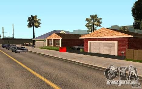 Nouvelles textures maison Millie pour GTA San Andreas troisième écran