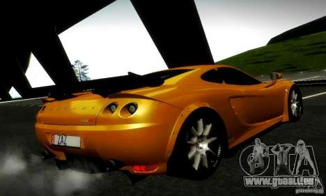 Ascari KZ1R Limited Edition pour GTA San Andreas vue intérieure