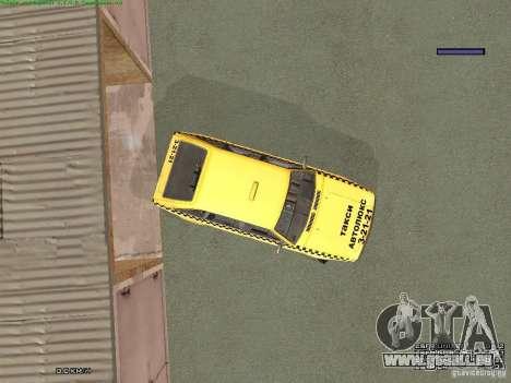 2141 Moskvitch AZLK Taxi v2 pour GTA San Andreas roue