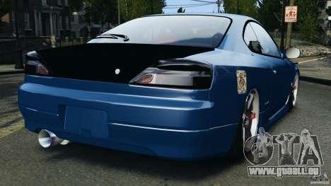 Nissan Silvia S15 JDM pour GTA 4 Vue arrière de la gauche