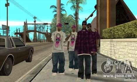 Remplacer toutes les apparences d'East Side Ball pour GTA San Andreas deuxième écran