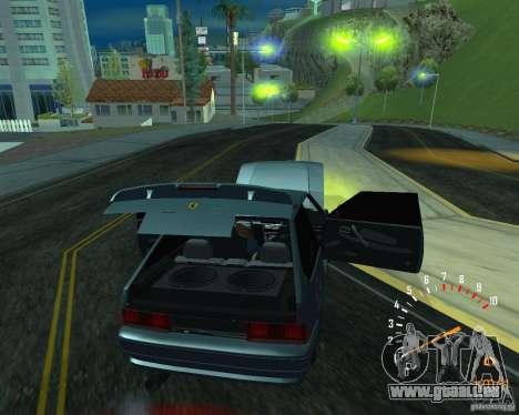 VAZ 2113 Ferarri pour GTA San Andreas sur la vue arrière gauche