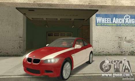 BMW M3 E92 Stock für GTA San Andreas Räder