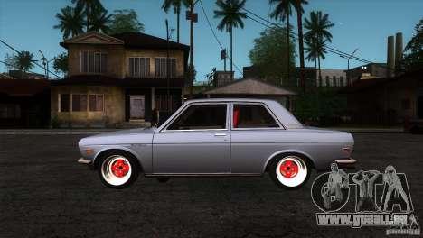 Nissan Datsun 510 pour GTA San Andreas laissé vue