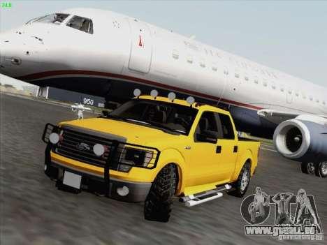 Ford F-150 für GTA San Andreas Unteransicht