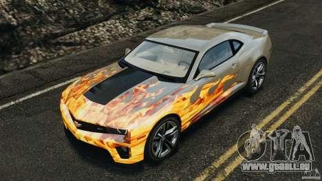 Chevrolet Camaro ZL1 2012 v1.0 Flames pour GTA 4