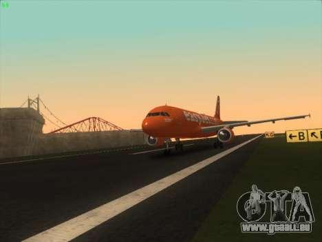 Airbus A320-214 EasyJet 200th Plane für GTA San Andreas