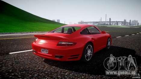 Porsche 911 Turbo V3 (final) pour GTA 4 est une vue de l'intérieur