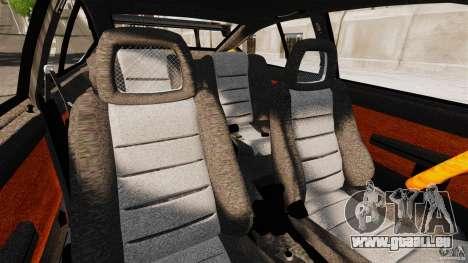 Alfa Romeo GTV6 1986 pour GTA 4 est une vue de l'intérieur