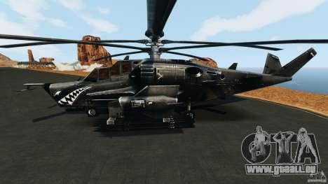 KA-50 Black Shark Modified pour GTA 4 est une gauche