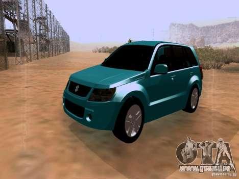 Suzuki Grand Vitara für GTA San Andreas