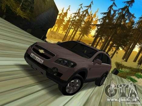 Chevrolet Captiva pour GTA San Andreas
