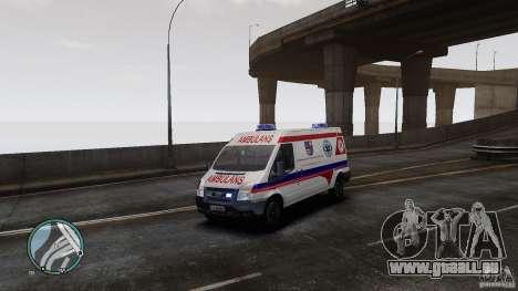 Ford Transit Ambulance pour GTA 4