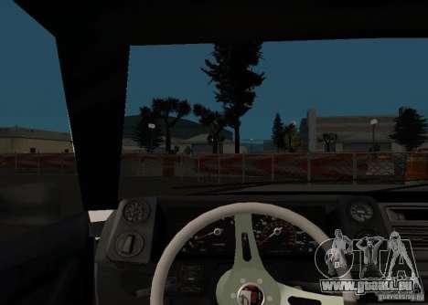 Elegy MIX v2 pour GTA San Andreas vue arrière