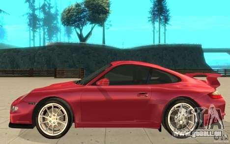 Porsche 911 (997) GT3 v2.0 für GTA San Andreas linke Ansicht