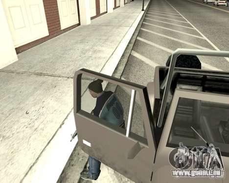 Capot du système pour GTA San Andreas huitième écran