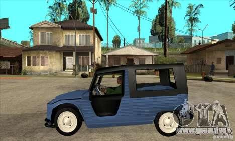 Citroen Mehari für GTA San Andreas linke Ansicht