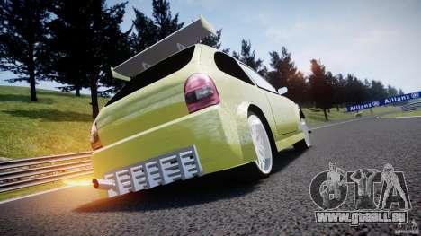 Chevrolet Corsa Extreme Revolution pour GTA 4 vue de dessus