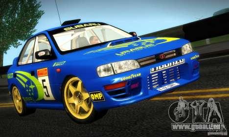 Subaru Impreza 1995 World Rally ChampionShip für GTA San Andreas