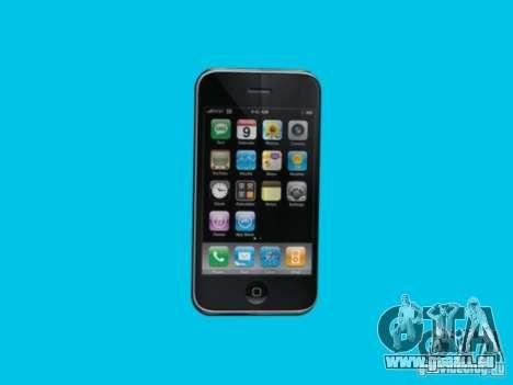 Iphone pour GTA San Andreas quatrième écran