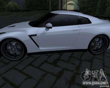 Nissan GTR-35 Spec-V pour GTA San Andreas vue de droite