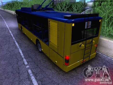 ElectroLAZ-12 pour GTA San Andreas laissé vue