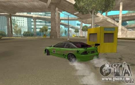 Toyota Altezza Toy Sport pour GTA San Andreas vue de droite