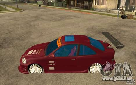Honda Civic 1998 Tuned für GTA San Andreas linke Ansicht