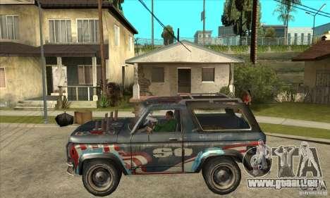 Blaster XL from FlatOut2 pour GTA San Andreas laissé vue