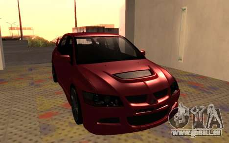 Mitsubishi Lancer Evolution VIII für GTA San Andreas linke Ansicht