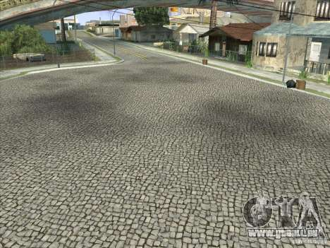 Grove Street Retextured für GTA San Andreas achten Screenshot