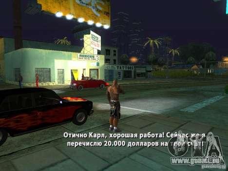 Killer Mod für GTA San Andreas achten Screenshot