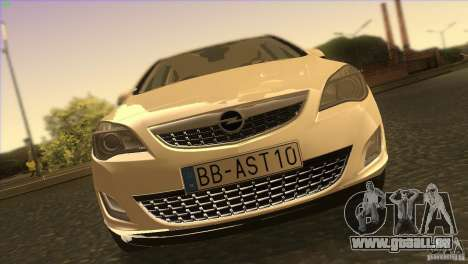Opel Astra 2010 für GTA San Andreas obere Ansicht