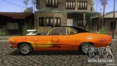 Plymouth Duster 440 pour GTA San Andreas laissé vue