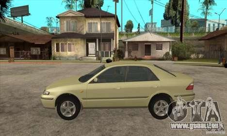 MAZDA 626 GF Sedan pour GTA San Andreas laissé vue